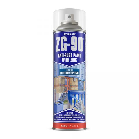 Zg 90 Cold Zinc Galvanising Spray Paint Action Can