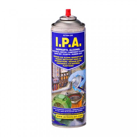 Ipa Isopropyl Alcohol Solvent Cleaner Action Can