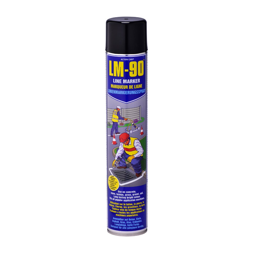 Lm 90 Line Marking Spray Paint Action Can