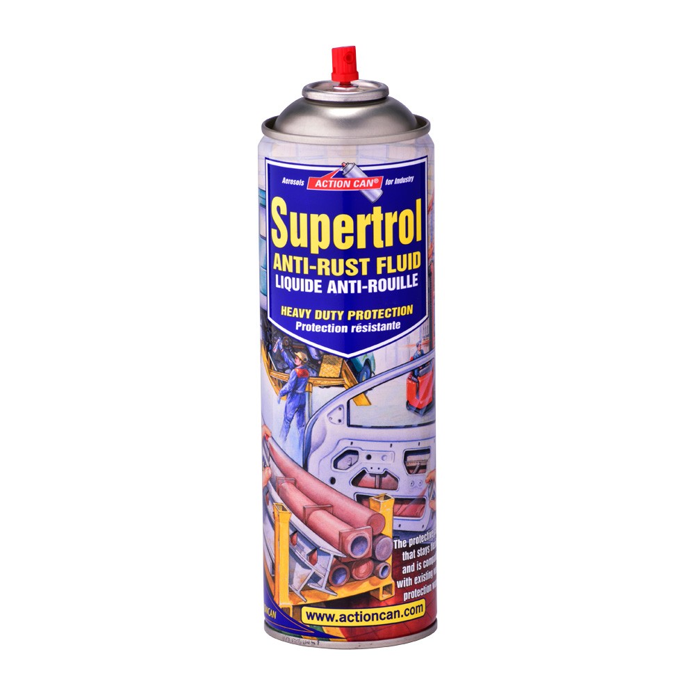 supertrol 001 industrial anti rust spray action can. Black Bedroom Furniture Sets. Home Design Ideas