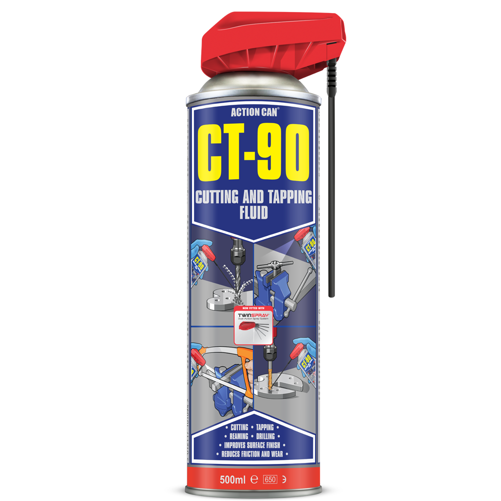 Ct 90 Cutting Fluid And Tapping Fluid Aerosol Action Can